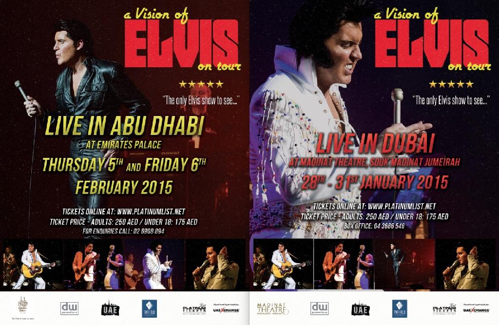 ROB KINGSLEY - ELVIS ABU DABI, DUBAI 2015
